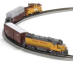 Athearn HO Iron Horse Train Set, UP, LIST PRICE $189.98