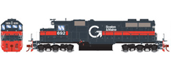Athearn HO SD39 Guilford B&M #692, LIST PRICE $134.98