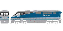 Athearn HO RTR F59PHI  Amtrak #457, DUE 2/15/2020, LIST PRICE $149.98