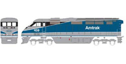 Athearn HO RTR F59PHI  Amtrak #459, DUE 2/15/2020, LIST PRICE $149.98