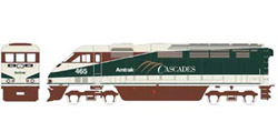 Athearn HO RTR F59PHI  Amtrak #465, LIST PRICE $149.98