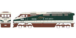Athearn HO RTR F59PHI  Amtrak #469, LIST PRICE $149.98