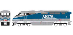 Athearn HO RTR F59PHI  METX #77, LIST PRICE $149.98