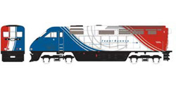 Athearn HO RTR F59PHI  UTAX #6, DUE 2/15/2020, LIST PRICE $149.98