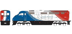 Athearn HO RTR F59PHI  UTAX #10, DUE 2/15/2020, LIST PRICE $149.98