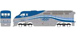 Athearn HO RTR F59PHI  AMTL #1321, DUE 2/15/2020, LIST PRICE $149.98