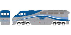 Athearn HO RTR F59PHI  AMTL #1329, DUE 2/15/2020, LIST PRICE $149.98