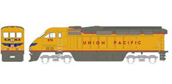 Athearn HO RTR F59PHI  UP #970, LIST PRICE $149.98