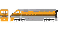 Athearn HO RTR F59PHI  D&RGW #5800, LIST PRICE $149.98