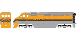 Athearn HO RTR F59PHI  D&RGW #5817, DUE 2/15/2020, LIST PRICE $149.98