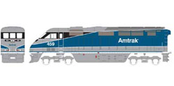 Athearn HO RTR F59PHI w/DCC & Sound  Amtrak #459, DUE 2/15/2020, LIST PRICE $219.98