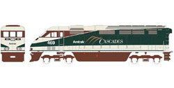 Athearn HO RTR F59PHI w/DCC & Sound  Amtrak #469, LIST PRICE $219.98