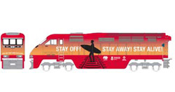 Athearn HO RTR F59PHI w/DCC & Sound  Amtrak #455, DUE 2/15/2020, LIST PRICE $229.98