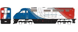 Athearn HO RTR F59PHI w/DCC & Sound  UTAX #2, DUE 2/15/2020, LIST PRICE $219.98