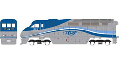 Athearn HO RTR F59PHI w/DCC & Sound  AMTL #1326, DUE 2/15/2020, LIST PRICE $219.98