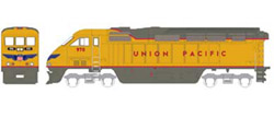 Athearn HO RTR F59PHI w/DCC & Sound  UP #970, DUE 2/15/2020, LIST PRICE $219.98