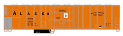 Athearn HO PC&F 57ft Mech Reefer Alaska RR 11502, LIST PRICE $29.98