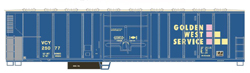 Athearn HO PC&F 57ft Mech Reefer Golden West Service 25125, DUE 11/30/2018, LIST PRICE $29.98