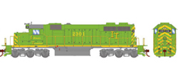 Athearn HO SD39 IT 2301, DUE 7/30/2019, LIST PRICE $149.98