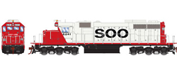 Athearn HO SD39 SOO Line 6241, LIST PRICE $149.98