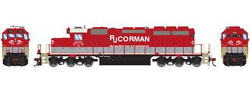 Athearn HO RTR SD40-2, RJ Corman #7116, LIST PRICE $149.98