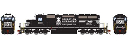 Athearn HO SD40-2 NS OLS 3500, LIST PRICE $149.98