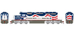 Athearn HO RTR SD40, UP/United Way #3300, LIST PRICE $149.98