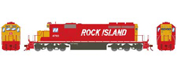 Athearn HO SD40-2 Rock Island 4790, LIST PRICE $149.98