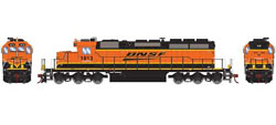 Athearn HO RTR SD39-2, BNSF/Wedge #1813, DUE 3/20/2019, LIST PRICE $149.98