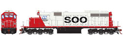 Athearn HO SD39 Snd SOO Line Lake States 6241, LIST PRICE $219.98