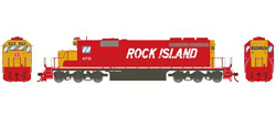 Athearn HO SD40-2 Rock Island Snd 4791, DUE 2/28/2018, LIST PRICE $209.98