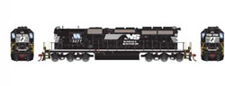 Athearn HO RTR SD40-2 w/DCC & Sound, NS #3277, LIST PRICE $209.98