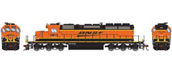 Athearn HO RTR SD39-2 w/DCC & Sound, BNSF/Wedge #1813, DUE 3/20/2019, LIST PRICE $209.98