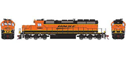 Athearn HO RTR SD39-2 w/DCC & Sound, BNSF/Wedge #1883, DUE 3/20/2019, LIST PRICE $209.98