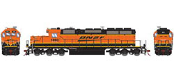 Athearn HO RTR SD39-2 w/DCC & Sound, BNSF/Wedge #1893, LIST PRICE $209.98