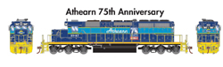 Athearn HO EMD SD40-2 Athearn 75th Anniversary #1947, DUE 8/30/2021, LIST PRICE $159.98