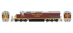 Athearn HO SD40T-2 Ohio Cent #4026, DUE 1/30/2022, LIST PRICE $169.99