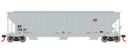 Athearn HO RTR FMC 4700 Covered Hopper,WP w/UP Logo #12027, LIST PRICE $35.98