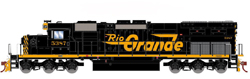Athearn HO EMD SD40T-2 D&RGW 5392, LIST PRICE $139.98