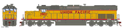 Athearn HO EMD SD40T-2 UP 2904, DUE 11/30/2018, LIST PRICE $139.98