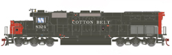 Athearn HO EMD SD40T-2 Cotton Belt 8372, LIST PRICE $139.98