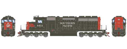 Athearn HO SD40  SP - Nose SP 8411, DUE 2/28/2018, LIST PRICE $139.98