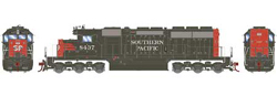 Athearn HO SD40  SP - Nose SP 8437, DUE 2/28/2018, LIST PRICE $139.98