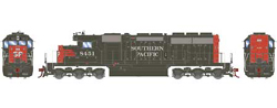 Athearn HO SD40  SP - Nose SP 8451, DUE 2/28/2018, LIST PRICE $139.98