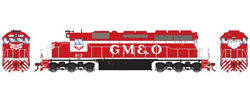 Athearn HO SD40  GM&O 913, LIST PRICE $139.98
