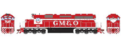 Athearn HO SD40  GM&O 920, LIST PRICE $139.98