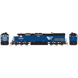 Athearn HO EMD SD45T-2 MRL 334, LIST PRICE $149.98