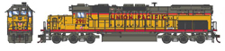 Athearn HO EMD SD40T-2 UP 2911 w/Snd, LIST PRICE $199.98