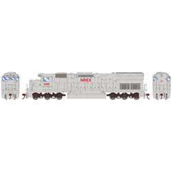 Athearn HO EMD SD45T-2 Snd NREX Wht- Red9308, DUE 4/30/2019, LIST PRICE $209.98