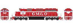Athearn HO SD40  GM&O Snd 916, LIST PRICE $199.98